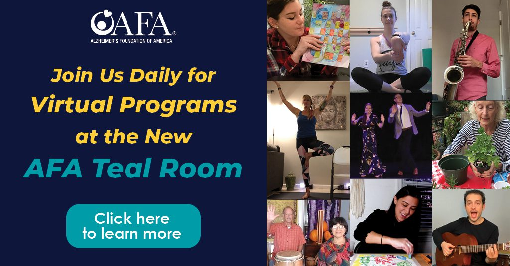 Learn more about our AFA Teal Room